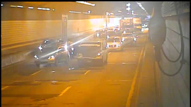 Multiple-vehicle collision in O'Neill Tunnel 8/6/2020